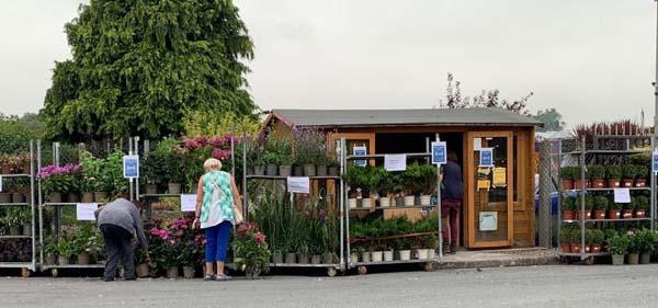 Allensmore Nurseries Gate Shop