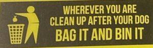 bag it and bin it